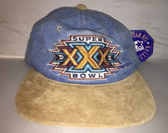 Vintage Super Bowl XXX Strapback hat cap rare 90s Dallas Cowboys NFL  Football deadstock fa6e45a90