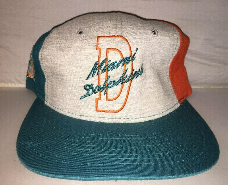 2ced5d02 Vintage Miami Dolphins STARTER Snapback hat cap NFL Football 90s deadstock  dan marino