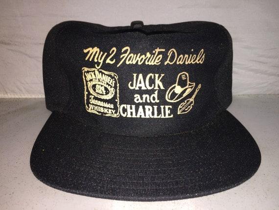 Vintage My 2 favorite jack daniels charlie daniels band  0c75b209644