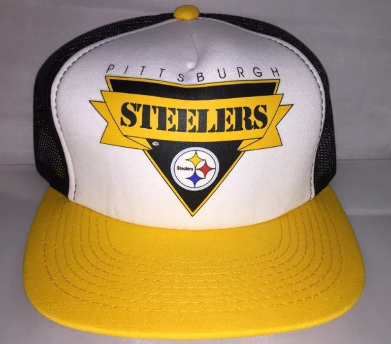 cacfb08a43b Vintage Pittsburgh Steelers Youngan Snapback hat cap rare 90s