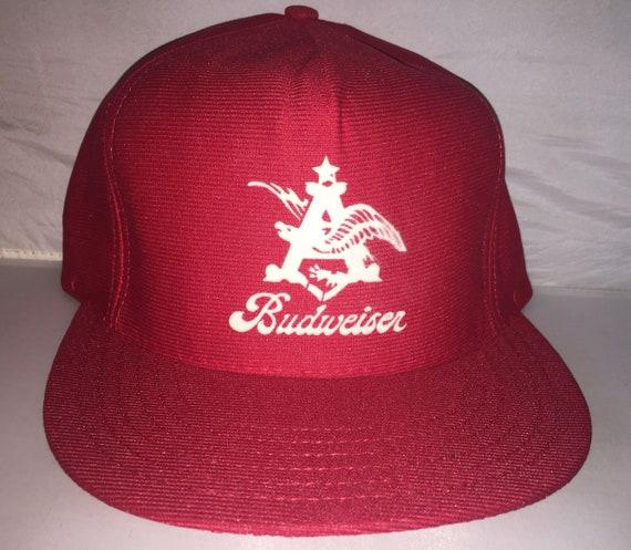 Vintage Budweiser Snapback hat cap rare 80s eagle beer brew  332c903d6c37