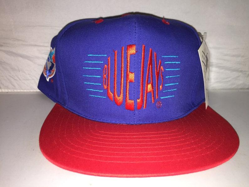 e88e3f02ec6 Vintage Toronto Blue Jays Snapback hat cap rare 90s Annco MLB