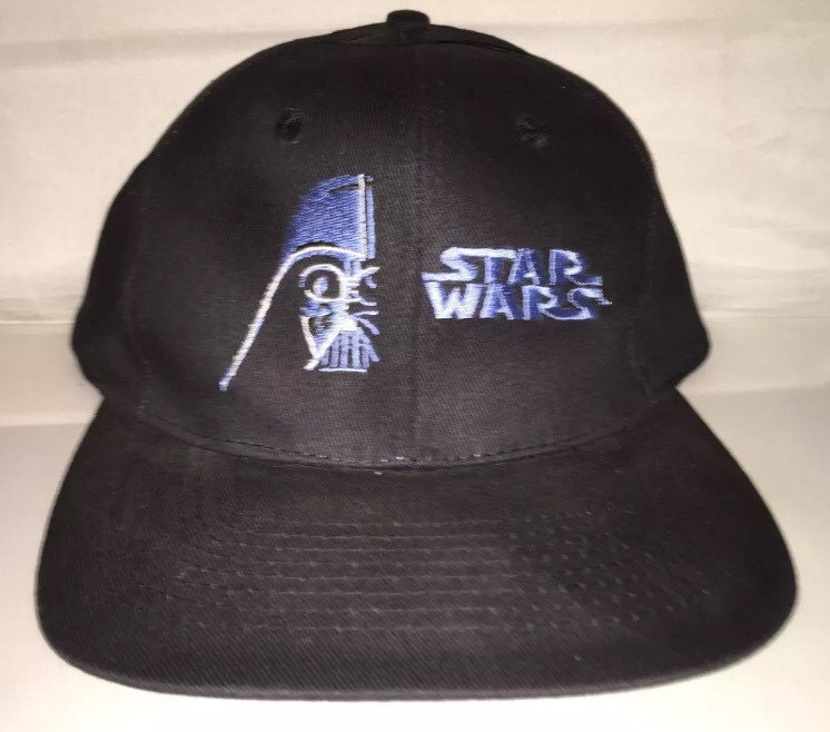 brand new 81c2b bf891 ... low price vintage star wars darth vader dark side snapback hat cap rare  etsy 9e4aa a29c1