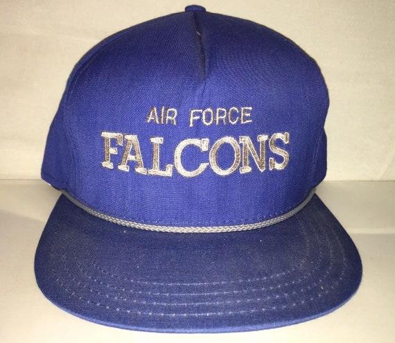 Vintage Air Force Falcons Football Snapback hat cap rare AJD  f64551566cf