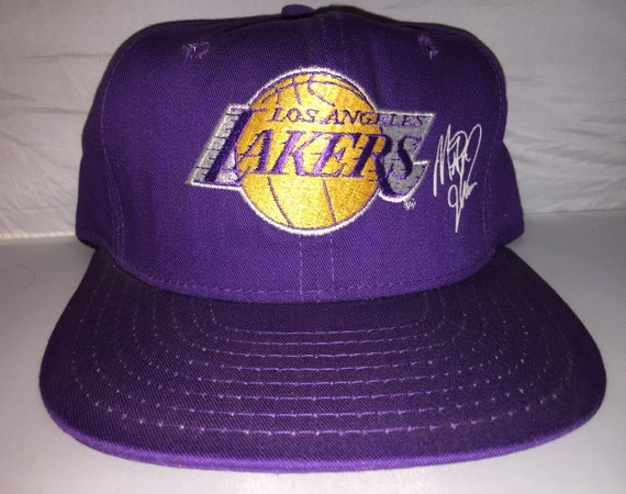 Vintage Magic Johnson Los Angeles Lakers Snapback hat cap rare  f73d7dab8ea7