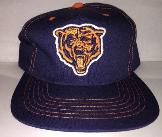 Vintage Chicago Bears Snapback hat cap rare NFL football  f02135b59eb