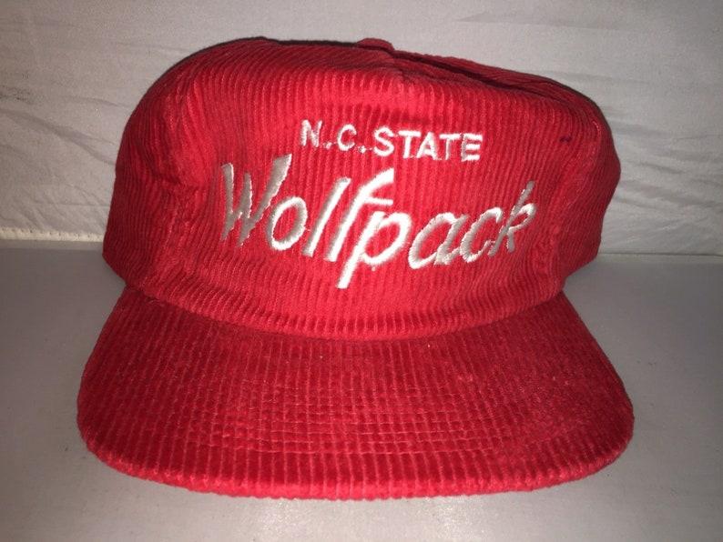watch 9b375 45d07 Vintage NC North Carolina State Wolfpack Corduroy Sports   Etsy