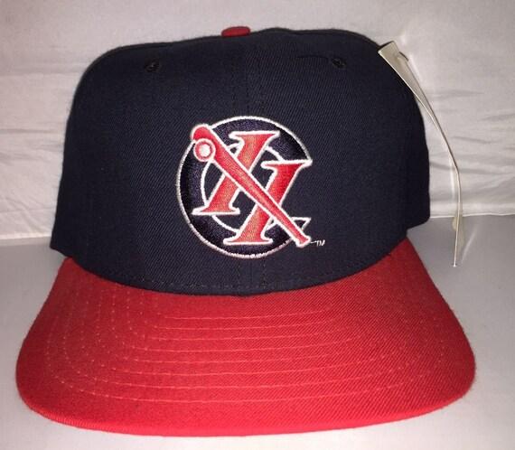 Vintage Columbus Redstixx Snapback hat cap rare 90s minor  8b82fdb614c2