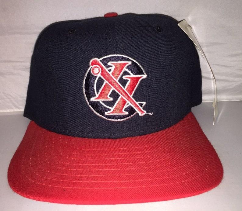 afa15210d904c Vintage Columbus Redstixx Snapback hat cap rare 90s minor