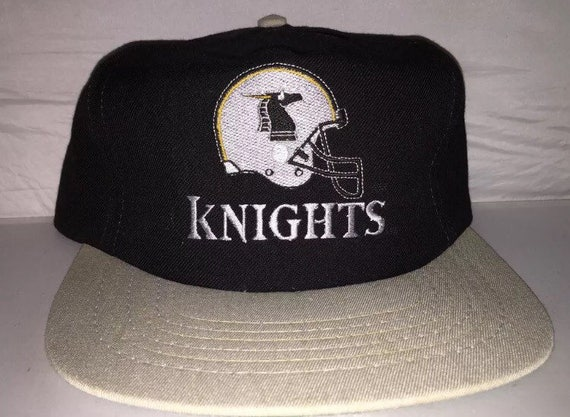 0431a38d77e Vintage New York Knights Snapback hat cap rare 90s WLAF world