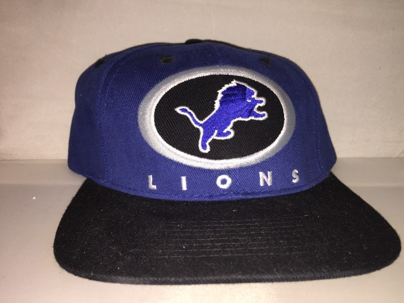 b654188c Vintage Detroit Lions Snapback hat cap rare 90s stafford megatron NFL  football deadstock