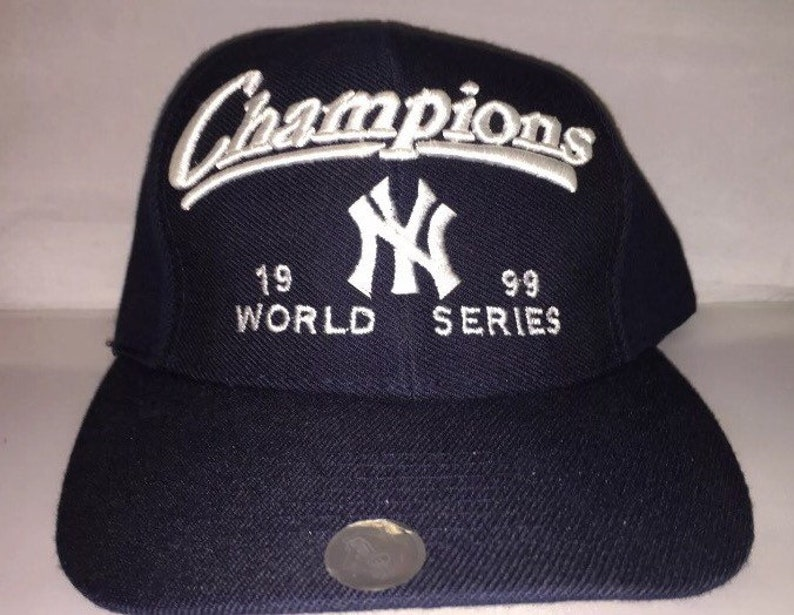 1dac639dd9298 Vintage New York Yankees World Series Snapback hat cap rare