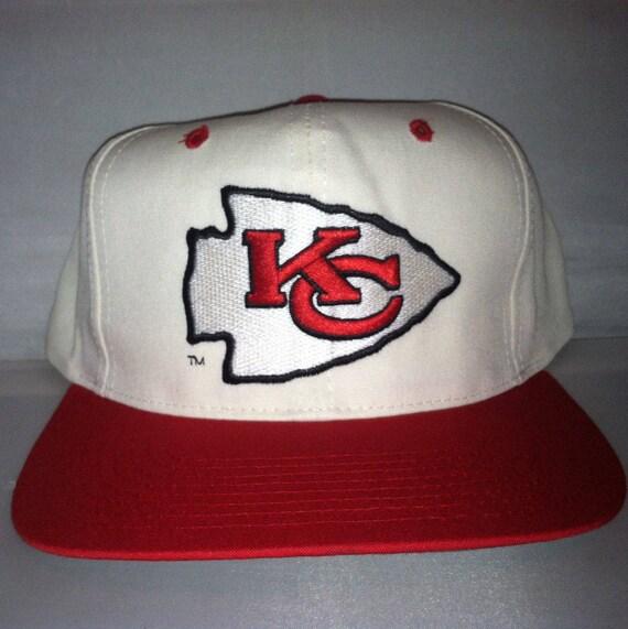 b37e30c5 Vintage Kansas City Chiefs Snapback hat cap Eastport rare 90s nwt NFL  deadstock