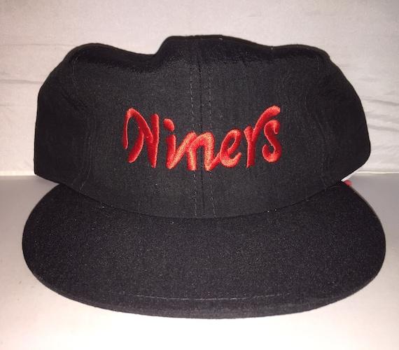 5f7704d7 Vintage San Francisco 49ers neon Snapback hat cap rare 90s deadstock nfl  football sga coca cola