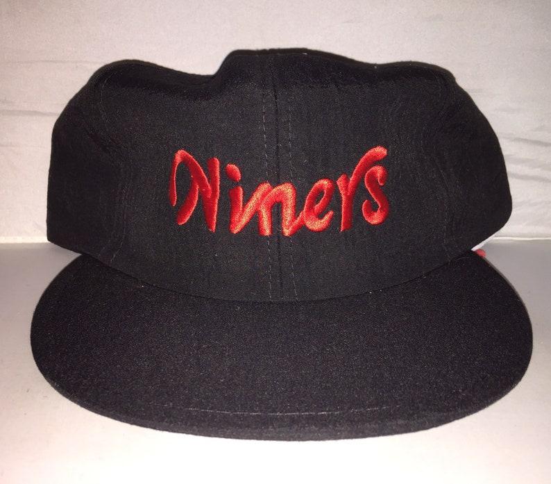 c76c4ad0 Vintage San Francisco 49ers neon Snapback hat cap rare 90s deadstock nfl  football sga coca cola