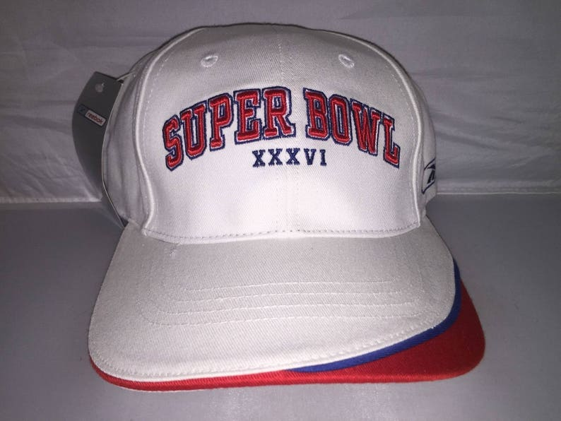 Vintage New England Patriots Superbowl adjustable hat cap Tom  15b76e9b364d