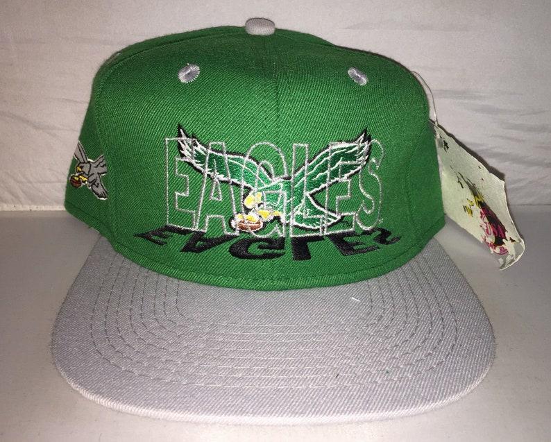 af6c03b811e Vintage Philadelphia Eagles Snapback hat cap rare 1 Apparel