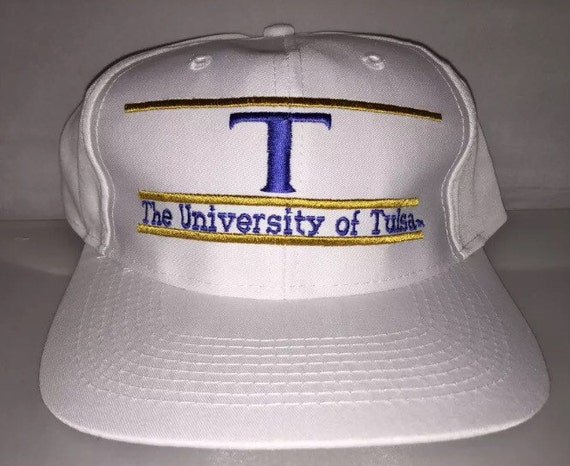 newest 7ef48 0df20 ... switzerland vintage university of tulsa golden hurricane snapback hat  cap etsy 275e5 b7f78