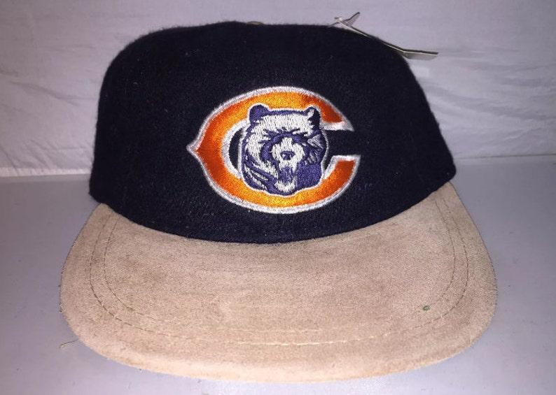 0ec3f95d Vintage Chicago Bears Strapback dad hat cap rare 90s American Needle  deadstock NFL Football