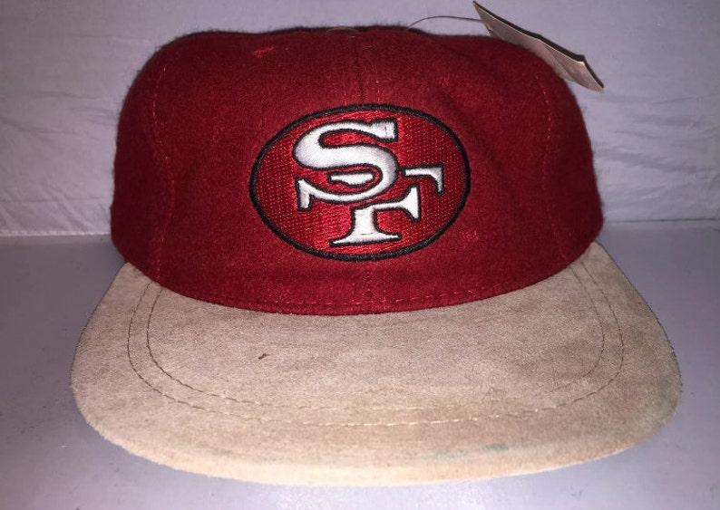 98e61807e4b71 Vintage San Francisco 49ers Strapback dad hat cap rare 90s