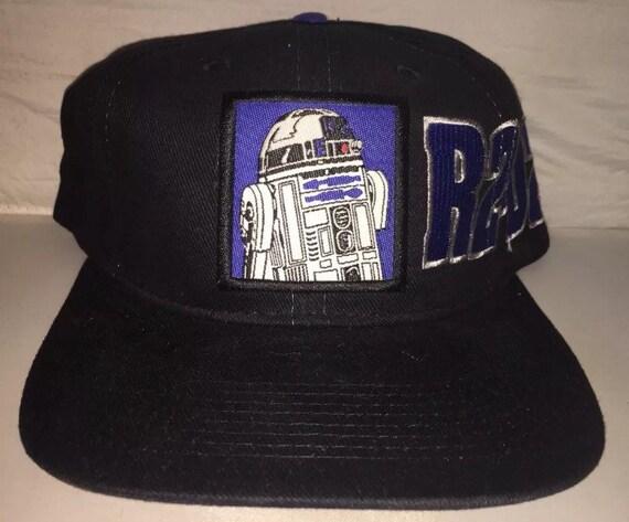 2cd0ace45152e ... new zealand vintage r2d2 droid star wars snapback hat cap rare 90s  deadstock trilogy dark side