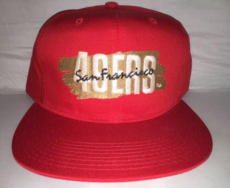 6d06af05 Vintage San Francisco 49ers New Era Snapback hat cap 90s deadstock rare NFL  football nwot