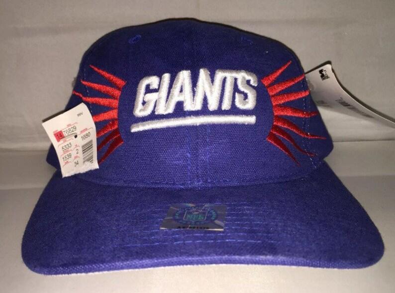 Vintage New York Giants Starter snapback hat cap rare 90s  a07e16785c81