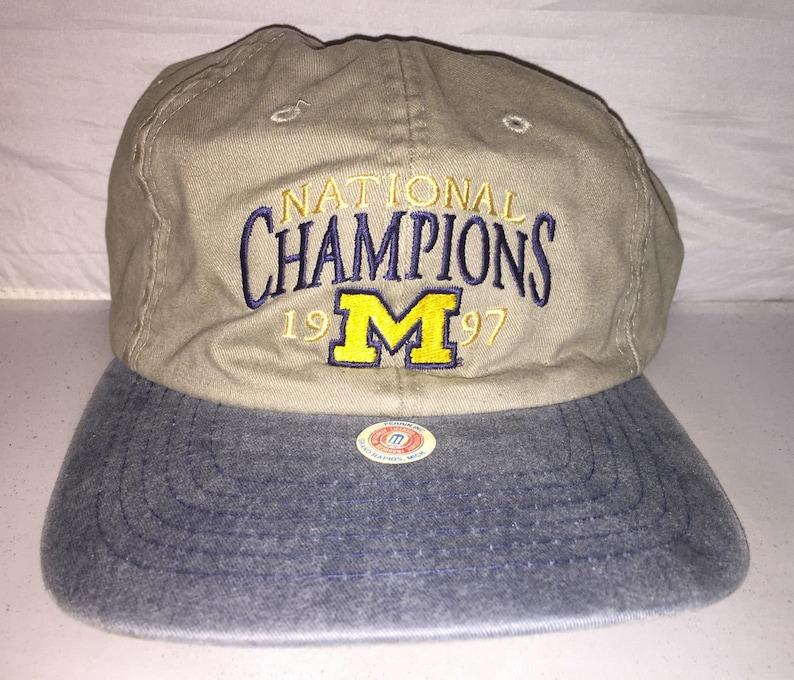 d8e03eb7aad Vintage 1997 Michigan NCAA College Football Champions