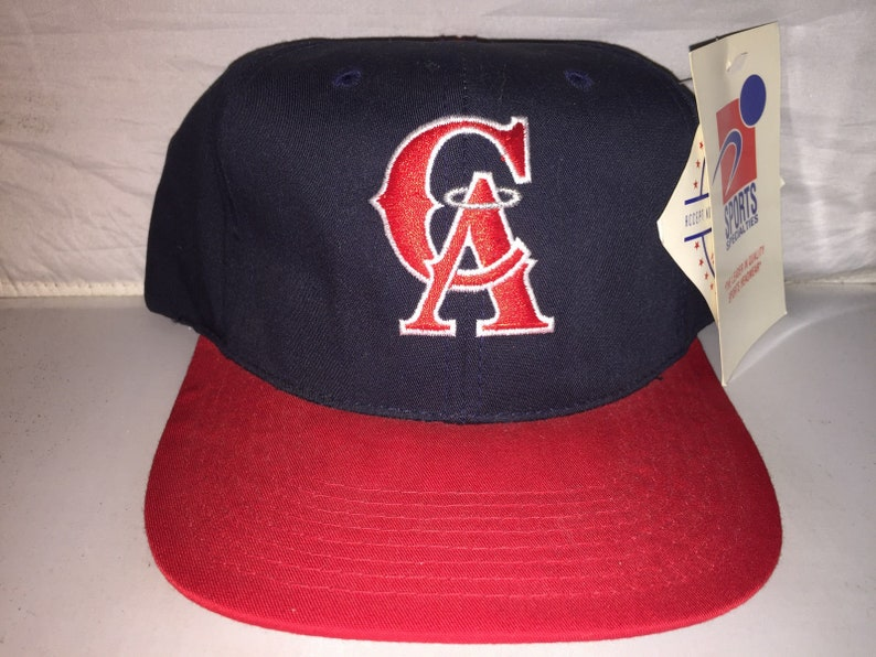 29e18f1a92f Vintage California Anaheim Angels Sports Specialties Snapback