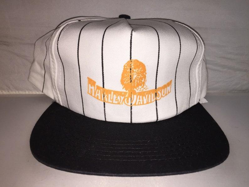 Vintage Harley Davidson Snapback hat cap rare 90s deadstock  491654edaee6