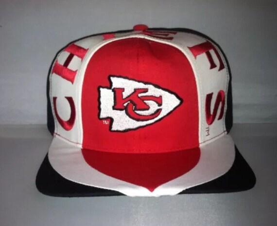 a9e3e11e5e46bd ... shop vintage kansas city chiefs snapback hat cap eastport nfl 90s etsy  555d8 78435