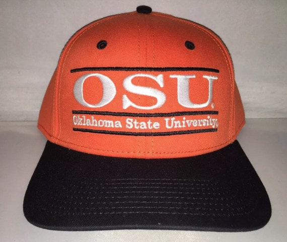 bc119b840 Vintage Oklahoma State Cowboys The Game bar Snapback hat cap