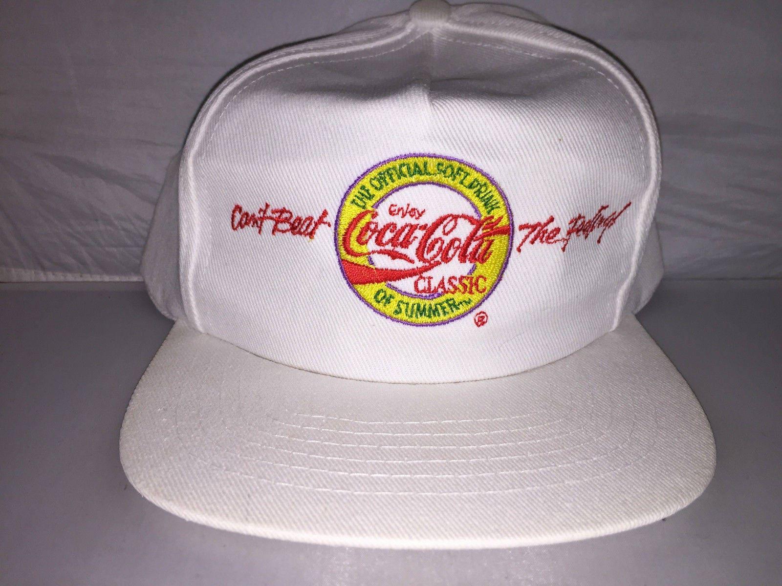 Vintage Coca Cola Snapback hat cap rare 90s soda coke hipster  024e45dd18d8