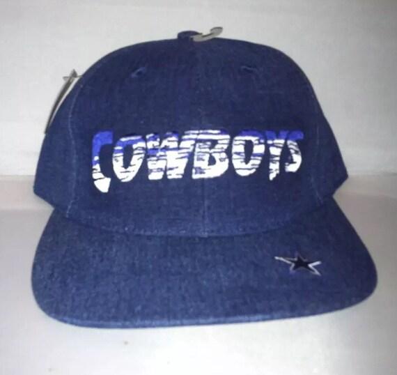Vintage Dallas Cowboys Snapback hat cap nwt 90s Annco  e0505d5ad4c6