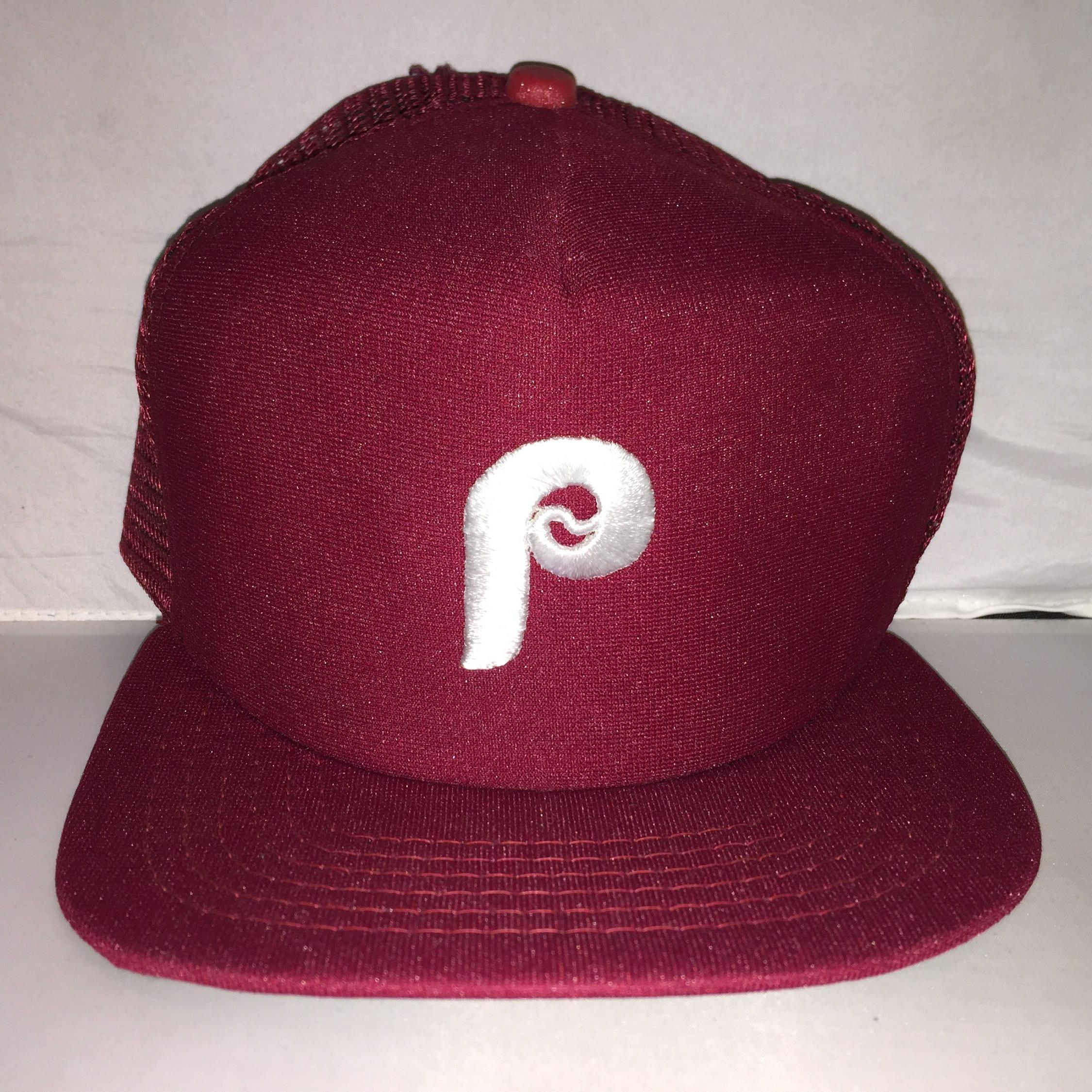Vintage Philadelphia Phillies Snapback hat cap rare 80s 90s  b31d28ccc05