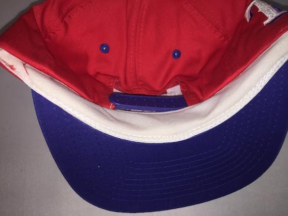 newest f15f1 75898 ... promo code for vintage texas rangers snapback hat cap rare 90s annco mlb  baseball nolan ryan