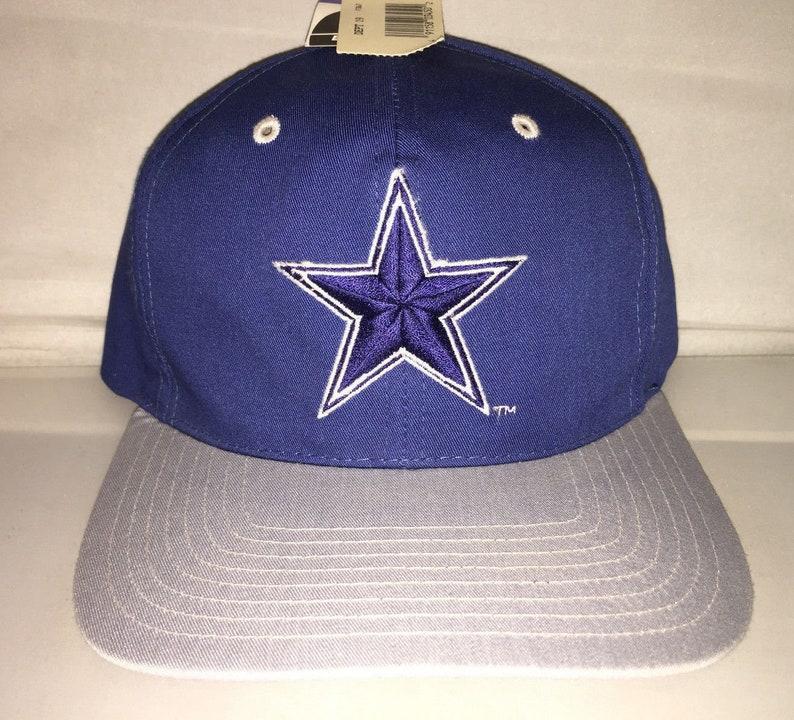 c2bd2edb7b8 Vintage Dallas Cowboys Snapback hat cap rare 90s deadstock NFL