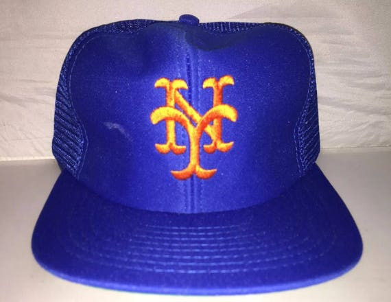 43551e2b ... where can i buy vintage new york mets snapback hat cap rare 90s  deadstock mlb etsy
