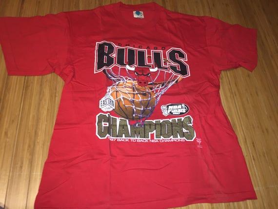 chicago bulls t shirt vintage