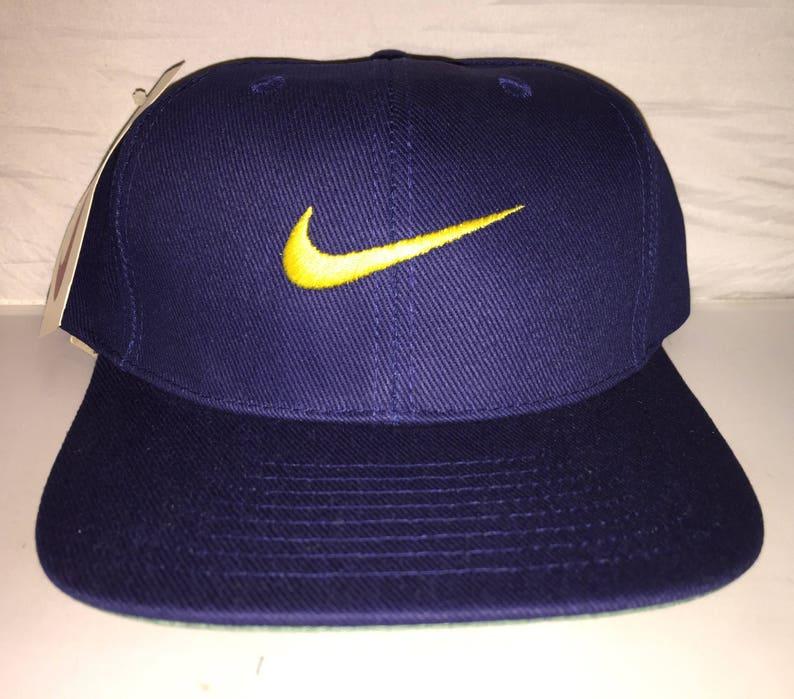 bd26288f1 Vintage Nike Snapback dad hat cap rare 90s og jordan air max force supreme  acg