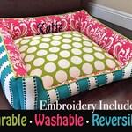 Custom Dog Bed, Personalized Dog Bed, Washable Dog Bed, Small Dog Bed, Pet Furniture, Modern Dog Bed, Dog beds, Large Dog Bed, Cat Bed, Dog