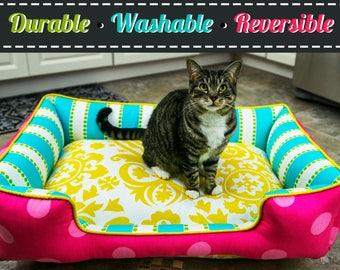 7a3f5036a29c Cat Bed | Cat Accessories | Pet furniture | Custom Cat Bedding | Cat  Furniture | Personalized Pet Items | Washable Cat Bed | Cat | Kitten