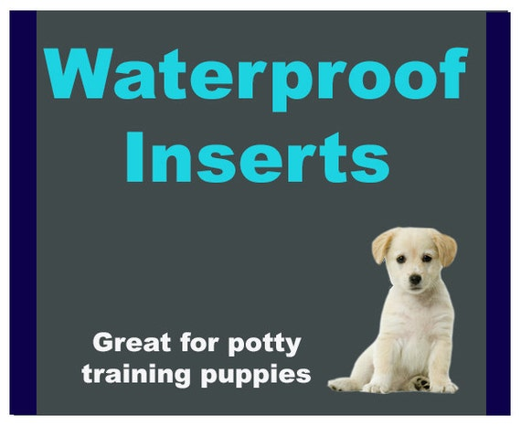 Water Resistant Inserts Add On Water Resistant Dog Bed Etsy