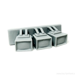 Sci-Fi Diner tables Warhammer Star Wars D/&D Fallout - Miniature tabletop furniture PAINTED 40k
