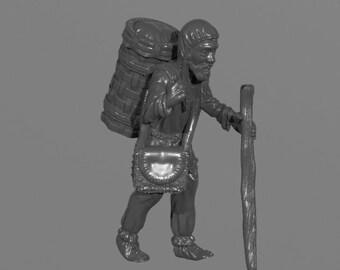 Medieval Hermit (STL)