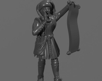Medieval Herald (STL)