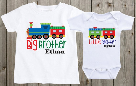 0abc5fbdd Matching shirts Set of 2 Sibling Shirts Big Brother Little | Etsy