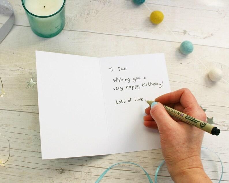 Handwritten Card Sent Direct To Recipient Add On For Imagine