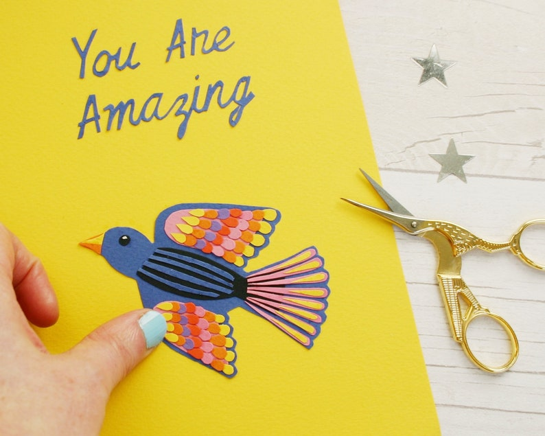 Thank You Card You Are Amazing Card For Friend