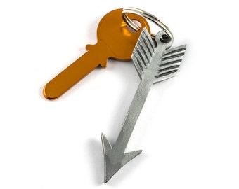 Boho keychain arrow - iron metal gift - gift idea